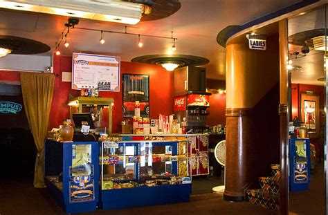 Concession Stand   This vintage theatre had wonderful