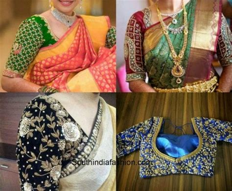 10 Must Have Blouse Designs