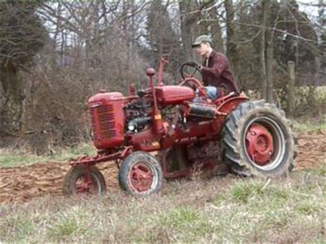 1944 Farmall with Lift-All Plow Antique Tractor
