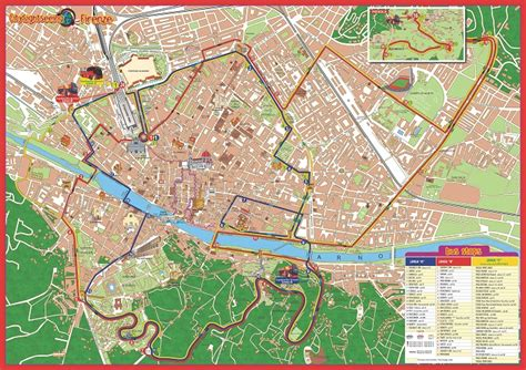 Florence Attractions Map PDF - FREE Printable Tourist Map