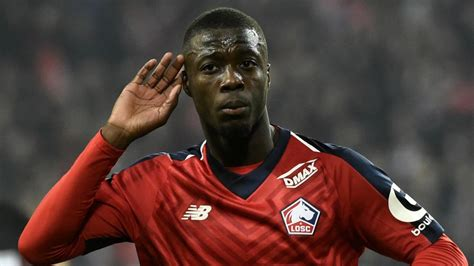 Lille Owner Confirms Sought-After Nicolas Pepe's Impending