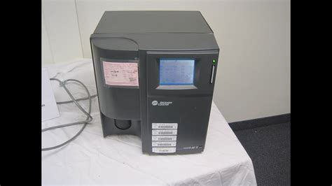 Beckman Coulter AC-T diff Hematology Analyzer - YouTube