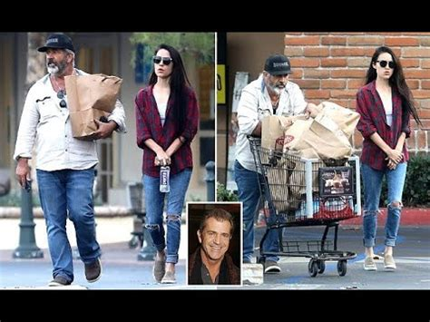 Mel Gibson UNRECOGNISABLE with girlfriend Rosalind Ross