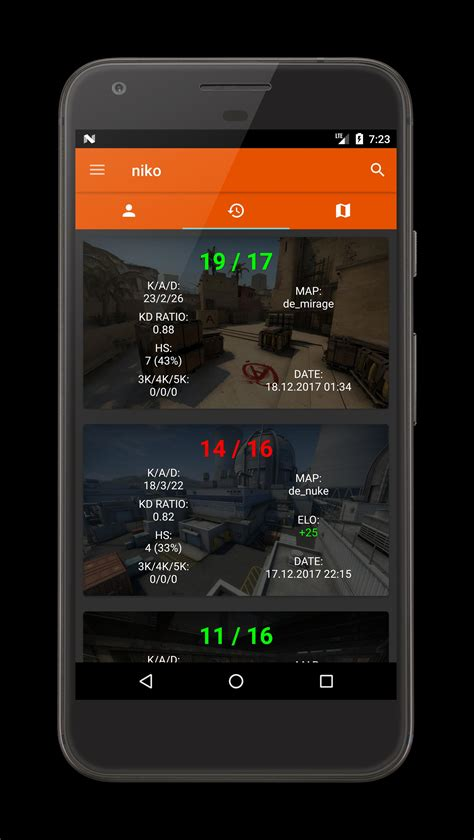Stats for FACEIT for Android - APK Download