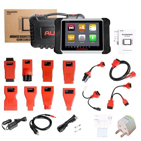 Autel MaxiCOM MK906 is based on the Android operating