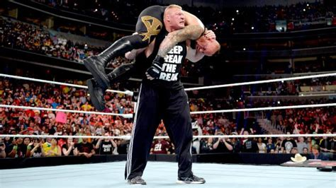 Brock Lesnar Has A New F5 Finisher In WWE 2K16 - Attack of