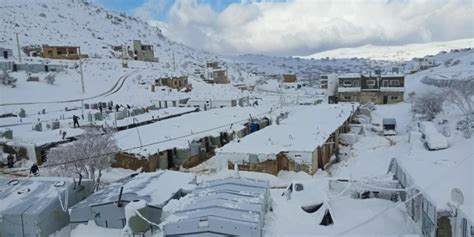 70,000 refugees at risk after heavy snow and floods