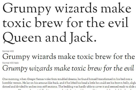 11 Beautiful Yet Highly Readable Typefaces From Google Fonts