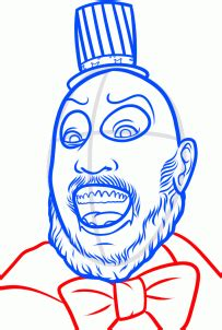 How to Draw Captain Spaulding, Step by Step, Characters