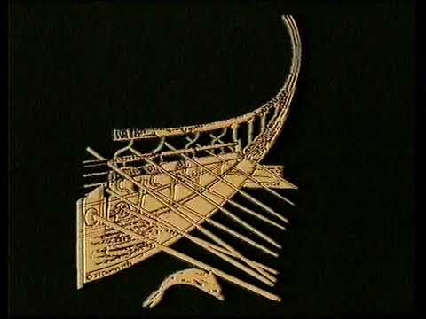 Hellenistic war galleys with a Trireme on bottom