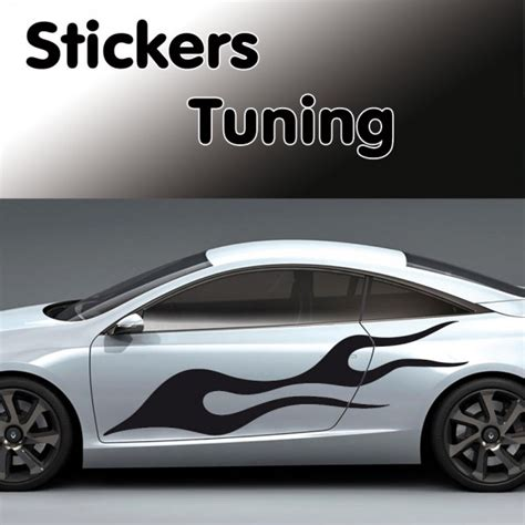 stickers Tuning Flamme ?·