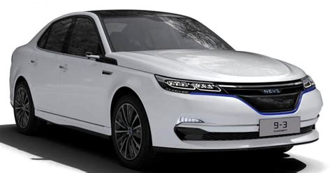 Saab-based EV concepts revealed by NEVS for China