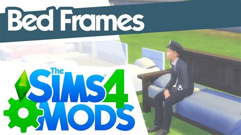 The Sims 4 Mods - Bed Frames - YouTube