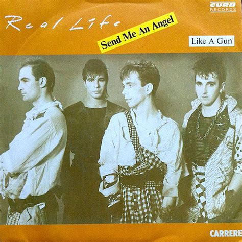 Real Life - Send Me An Angel (1983, Vinyl) | Discogs