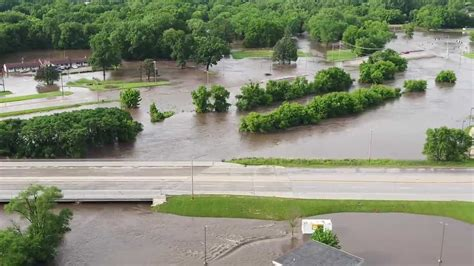 Historic crest of Fourmile Creek causes flooding in