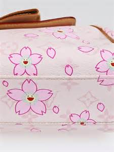 Louis Vuitton Limited Edition Pink Cherry Blossom Sac