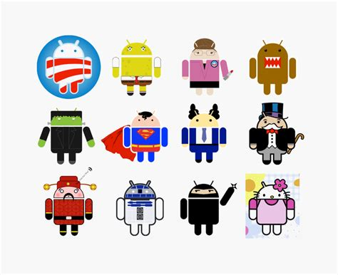Brand New: Story Behind Android Logo