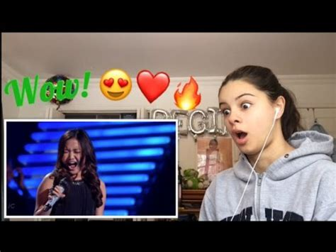 Reacting To Charice Pempengco - All By Myself - YouTube