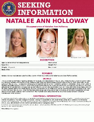 Natalee Holloway Facts: Everything To Know About
