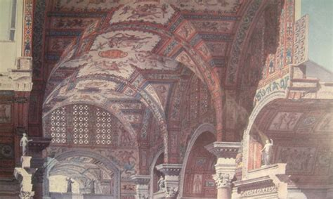 THE INTERIOR OF THE BATHS OF DIOCLETIAN