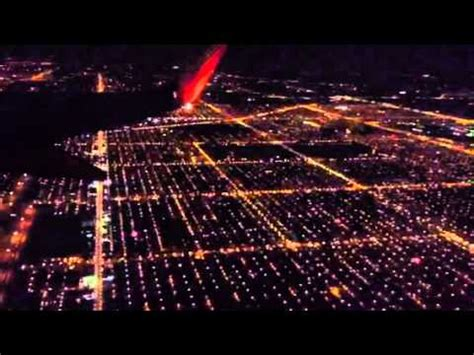 What fireworks look like in the air on a plane - YouTube