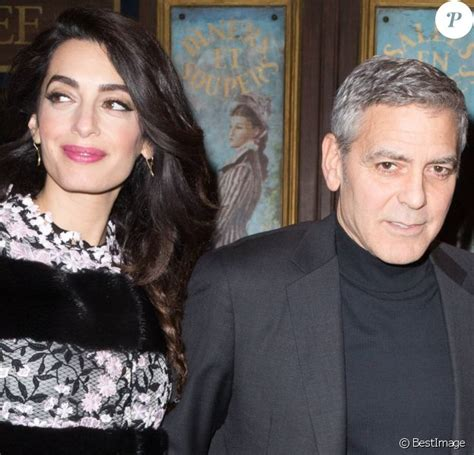 Amal Clooney : Accouchement imminent, George annule un