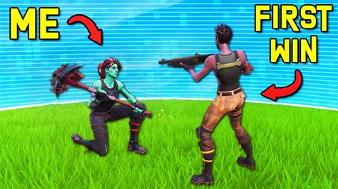 I let DEFAULTS get their FIRST SOLO WINS - Fortnite Battle