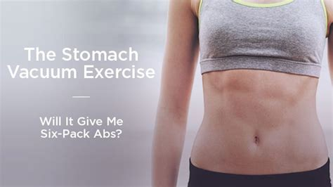Bored of doing crunches? Try out the 'Stomach Vacuum