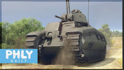 FRENCH TANKS Are HERE | CHAR B1 Heavy Tank & MORE (War