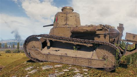 World of Tanks supertest - Italian tanks in game pictures