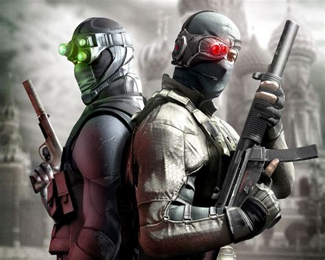 Tom Clancy's Splinter Cell Conviction Wallpapers | HD