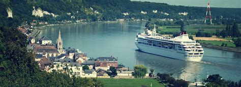 Sea cruises to and from Rouen and Normandy