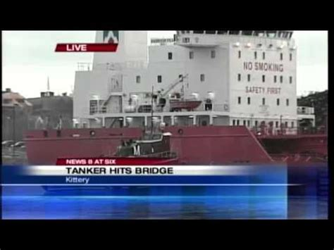 Tanker Harbour Feature Allision with Bridge – Officer of