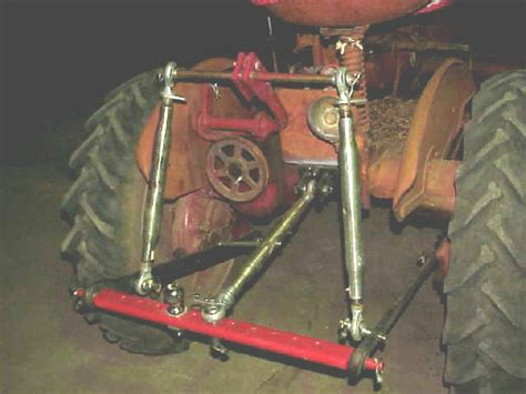 ANOTHER LOOK AT 3 POINT HITCHES - Farmall Cub