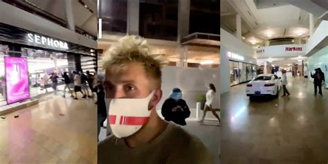 Jake Paul Accused of Looting at Fashion Square in Arizona