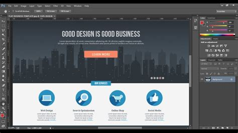 PSD To HTML   PSD To Bootstrap   HTML Tutorial Step By