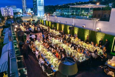 Gorgeous Rooftop Wedding Ceremony & Reception in West