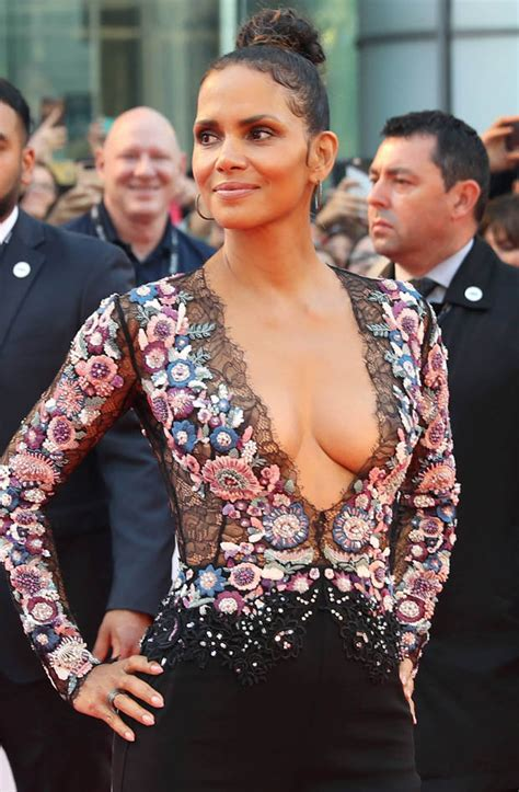 Kingsman 2 cast member Halle Berry wows at Toronto Film