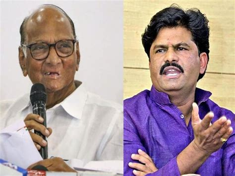 NCP workers protest against Gopichand Padalkar over Sharad