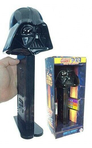 New Large Star Wars Darth Vader Giant PEZ Candy Roll