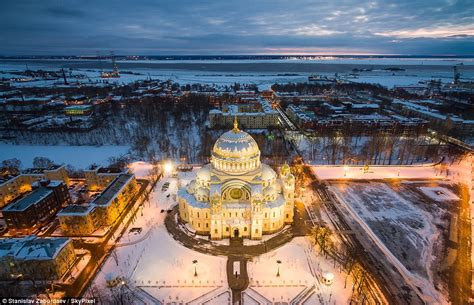 Stunning winter drone images from Canada to Russia | Daily