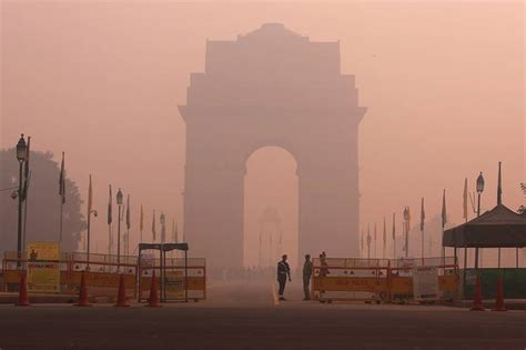 Air Pollution in New Delhi Gets Dangerously High During