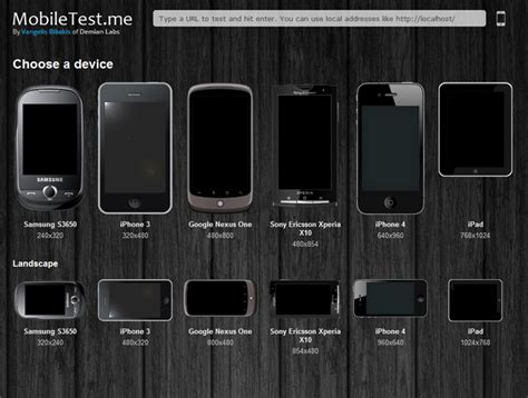 The Lab » How to test your mobile web site or app across