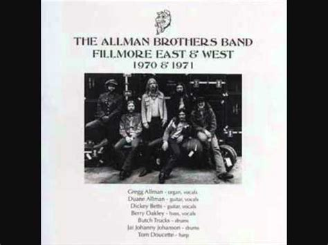 Allman Brothers Band - In Memory Of Elizabeth Reed