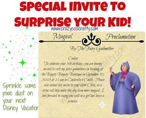 How to BBB Invite for your Disney Vacation