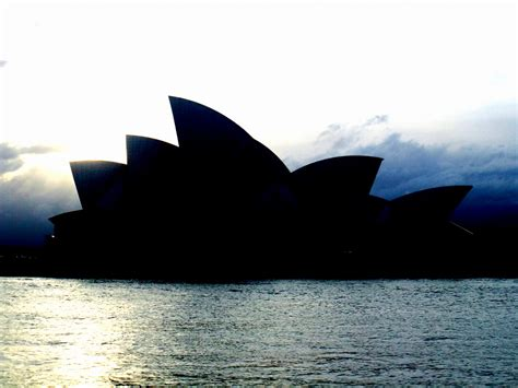 Silhouette of the Sydney Opera House | James Cridland | Flickr