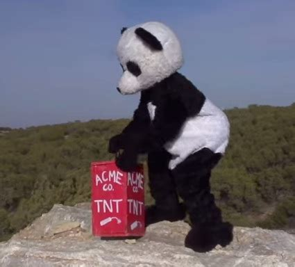 This Explosion Experiment Takes Balls (and a Panda)   RTM