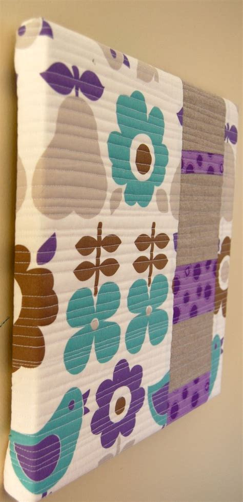 The Sewing Machine Cover turned Wall Hanging | Quilted