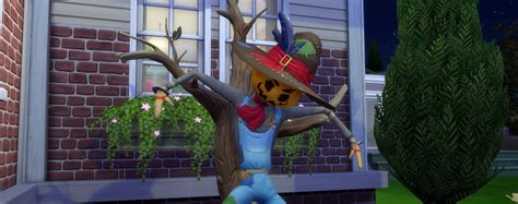 Let's meet Patchy the Scarecrow - Sims Online